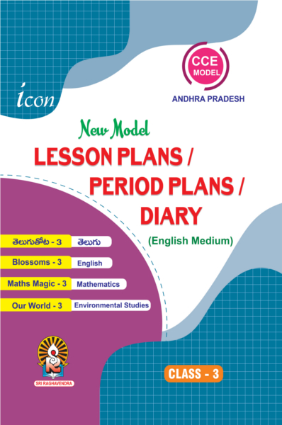Lesson Plans Period Plans Diary Class 3