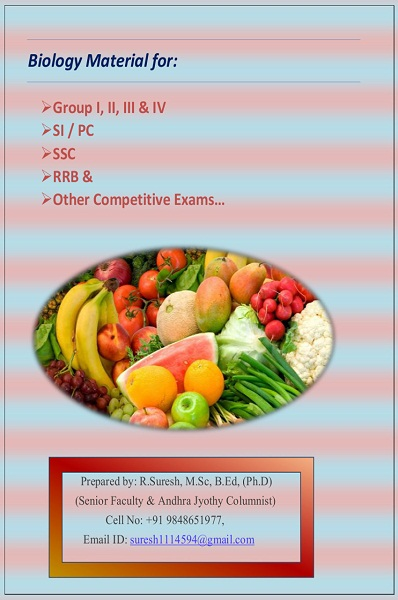 Biology Material For Competitive Exams