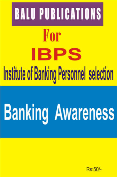 Banking Awareness For IBPS
