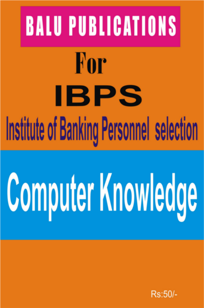 Computer Knowledge For IBPS