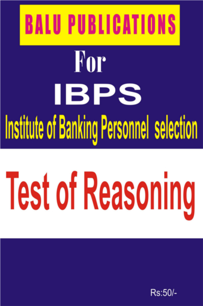 Test Of Reasoning For IBPS