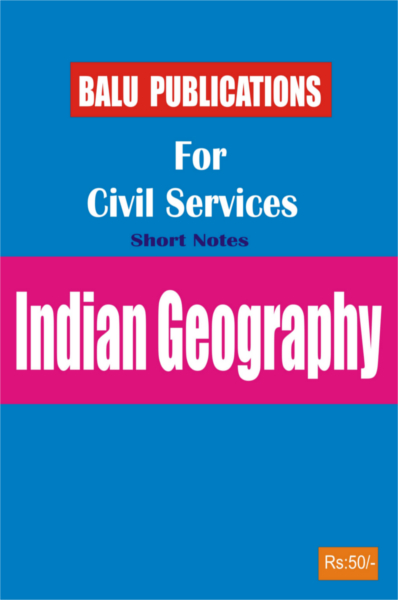 Indian Geography For Civil Services