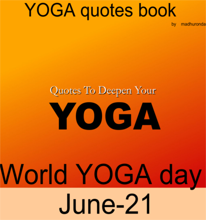 Yoga Quotes Book
