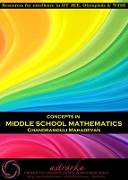 Concepts in Middle School Mathematics by Chandramouli Mahadevan