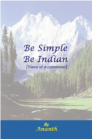Be Simple Be Indian by R.V.R.Prasad