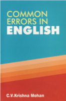 Common Errors In English by C. V. Krishnamohan