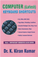 Computer Latest Keyboard Shortcuts by Dr.K.Kiran Kumar