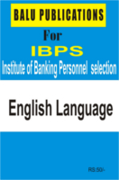 English Language For IBPS by Academic Team of Balu Publications