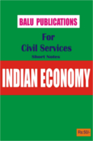 Indian Economy For Civil Services by Academic Team of Balu Publications
