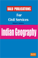 Indian Geography For Civil Services by Academic Team of Balu Publications