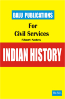 Indian History For Civil Services by Academic Team of Balu Publications