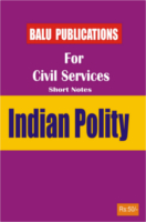 Indian Polity For Civil Services by Academic Team of Balu Publications