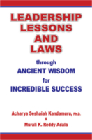 Leadership Lessons And Laws by K. Seshaiah and Murali K. Reddy Adala
