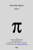 Pi Of The Circle Vol 5 by R.D.Sarva Jagannadha Reddy