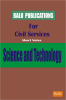 Science And Technology For Civil Services by Academic Team of Balu Publications