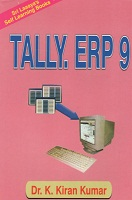 Tally ERP 9 English Version by Dr.K.Kiran Kumar