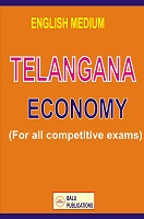 Telangana Economy English Medium by Academic Team of Balu Publications and Srinivas chowhan