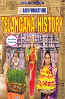 Telangana History Revised by Academic Team of Balu Publications under the guidance of Srinivas chowhan